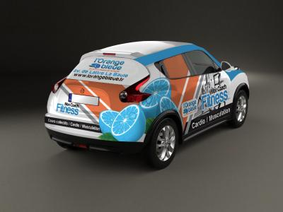 Total-covering sur Nissan Juke